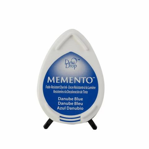 Штемпельная подушечка mini - MEMENTO - Danube Blue