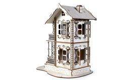 Терем от Lemmo - Деревянный конструктор, сборная модель, 3D пазл