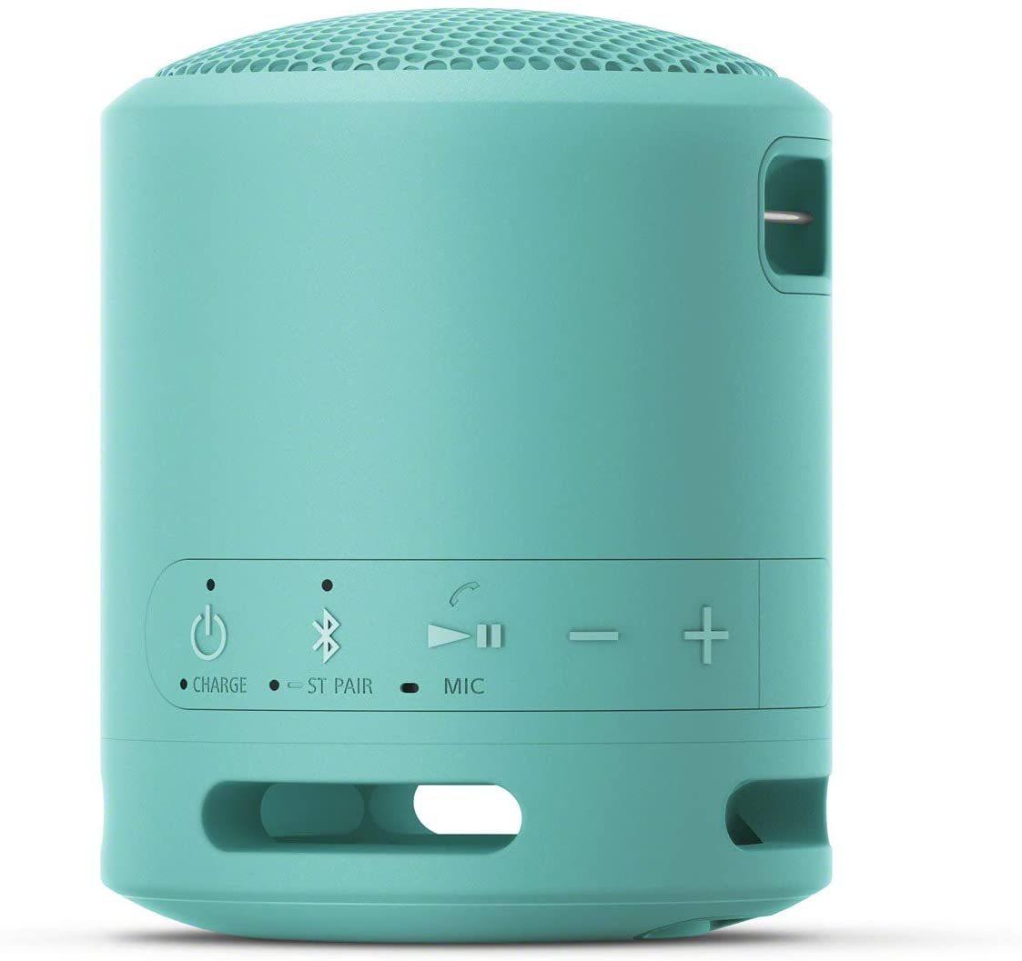 Колонка Sony SRS-XB13 голубого цвета в фирменном интернет-магазине