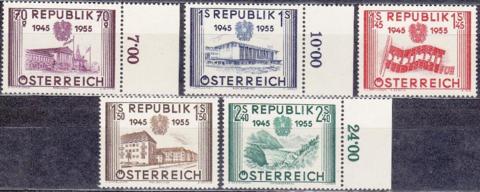 1955 1012-6 **MNH