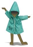Плащ с аппликацией - Демонстрационный образец. Одежда для кукол, пупсов и мягких игрушек.