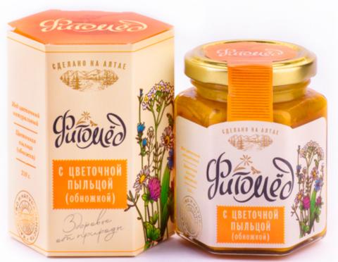 Фитомед с цветочной пыльцой (обножкой), 230 гр