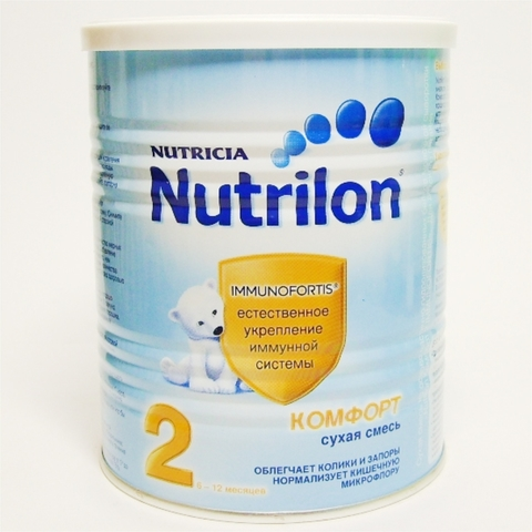 Смесь NUTRILON 2 Immunofortis 400 гр Nutricia НИДЕРЛАНДЫ