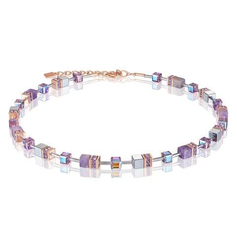 Колье Lilac 4017/10-0829 цвет фиолетовый