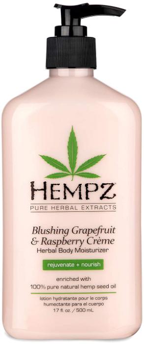 Hempz Blushing Grapefruit & Raspberry Creme Herbal Body Moisturiser молочко для тела 500мл