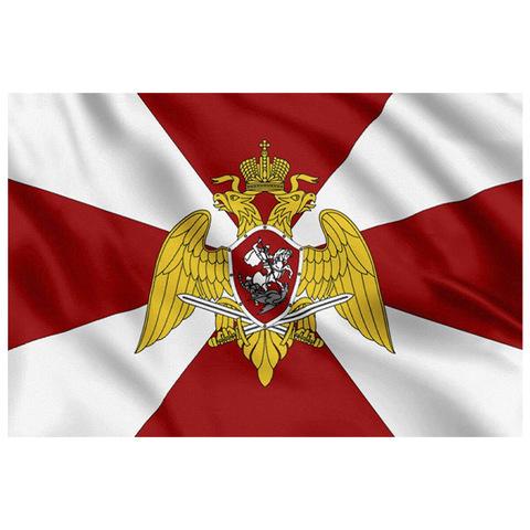 Флаг войск национальной гвардии РФ 90*135