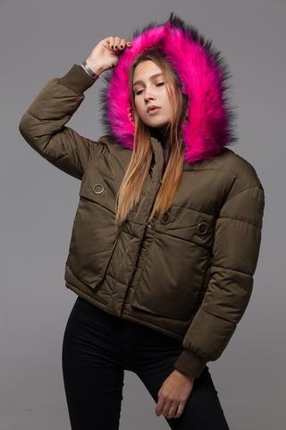 Куртка из плащевки на холлофайбере недорого