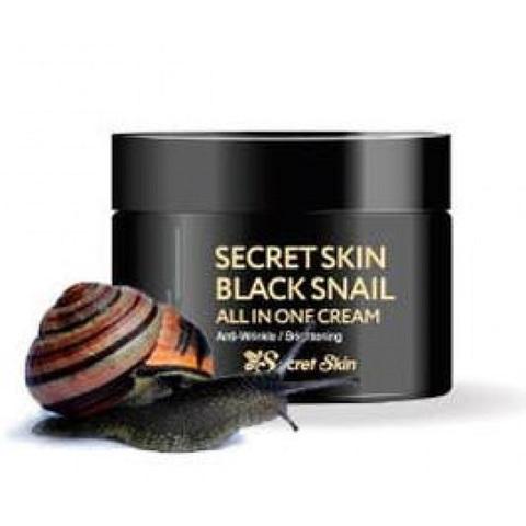 Secret Skin Black Snail All In One Cream многофункциональный крем c экстрактом черной улитки