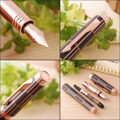 Перьевая ручка Parker Premier Luxury F560 Brown PGT123