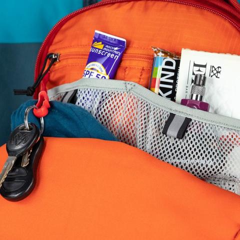 Картинка рюкзак горнолыжный Osprey Kamber 16 Ripcord Red - 8