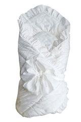 Папитто. Конверт-одеяло с завязкой, 100х100 см белый вид 3