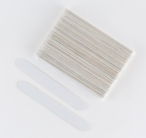Пилка на деревянной основе, 120/120 грит