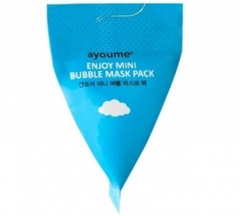 Маска для лица пузырьковая Ayoume Enjoy Mini Bubble Mask Pack  1 шт.