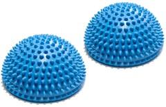 Полусфера Original FitTools массажно-балансировочная (набор 2 шт) синий