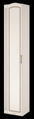 Шкаф-пенал левый Виктория 17 Ижмебель белый глянец
