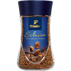 Кофе растворимый Tchibo Exclusive 95 г (стекло)