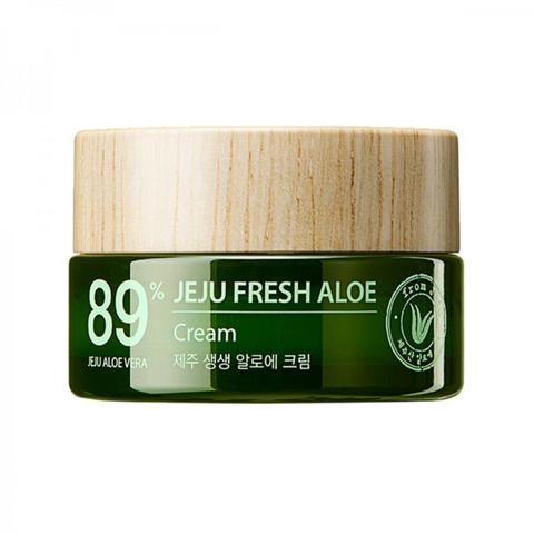 Увлажняющий крем  89% алоэ вера Jeju Fresh Aloe Cream THE SAEM 50 гр