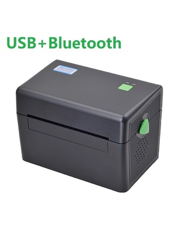 Термальный принтер этикеток XPrinter XP-DT108B (USB + Bluetooth) черный