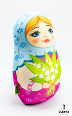 Подушка-игрушка антистресс Gekoko «Матрешка весенняя» 2