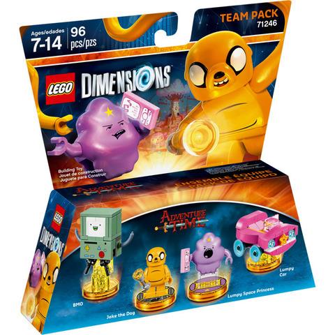 LEGO Dimensions: Team Pack - Время приключений 71246 — Adventure Time Team Pack — Лего Измерения