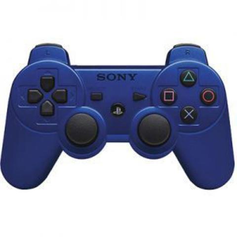 Беспроводной контроллер DualShock 3 (синий, под оригинал - точная копия)