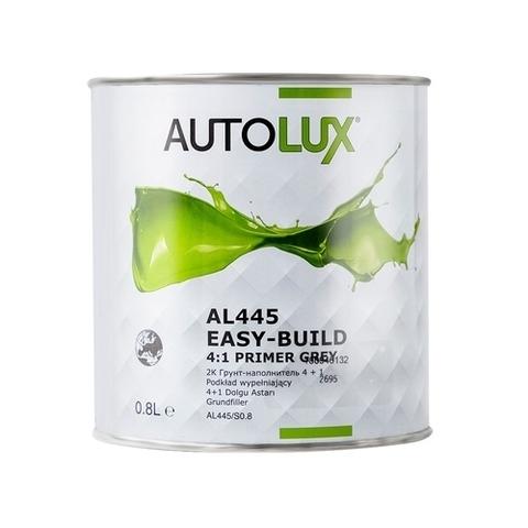 Autolux 2К Грунт-наполнитель 4+1 серый 0,8л AL 445/S0,8 + отв. MS стандарт 0,2л