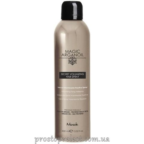 Nook Magic Arganoil Secret Volumizing Hair Spray — Лак для об'єму волосся