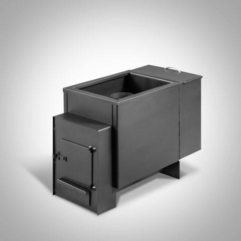 Печь банная ПБ-12Б (бак из стали 25л) (4 мм.)