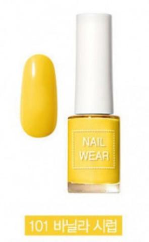 Лак для ногтей 101 Vanilla Syrup 7 мл