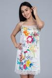 Ночная сорочка с цветочным рисунком Le Chat