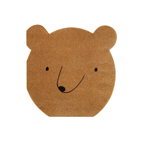 Салфетки медведь