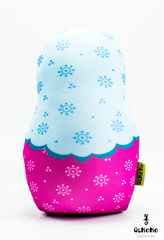 Подушка-игрушка антистресс Gekoko «Матрешка весенняя» 3