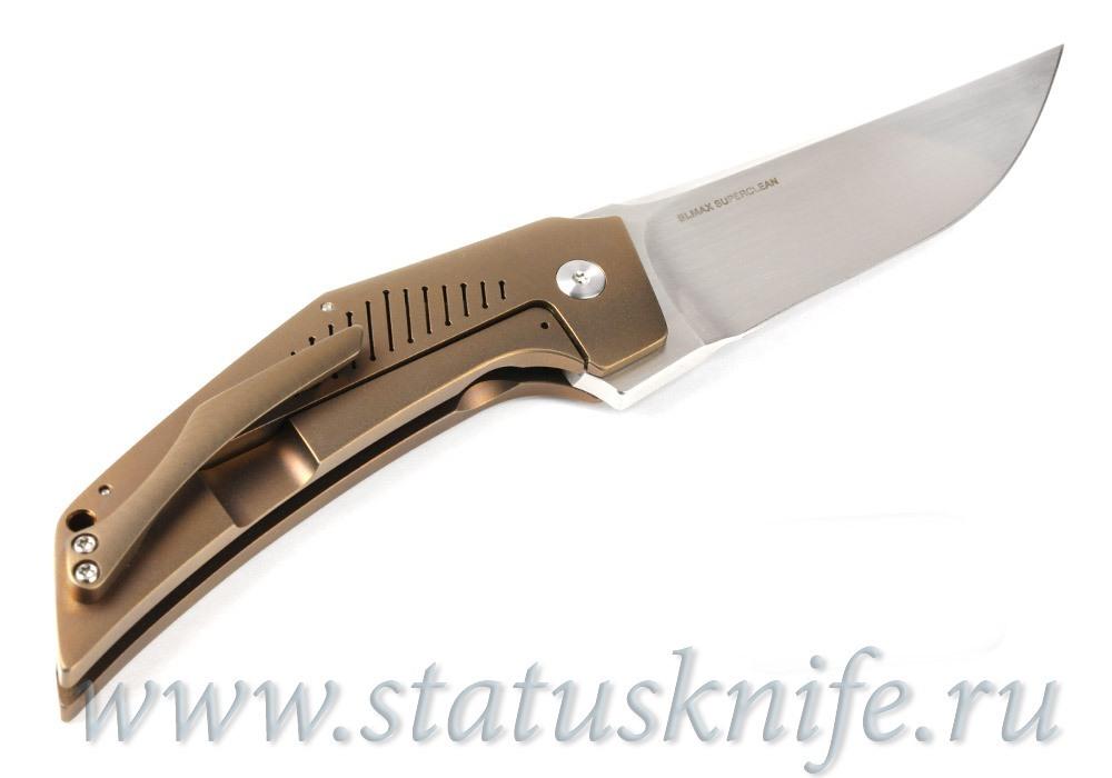 Нож Tashi Bharucha Custom Heatseeker Titanium - фотография