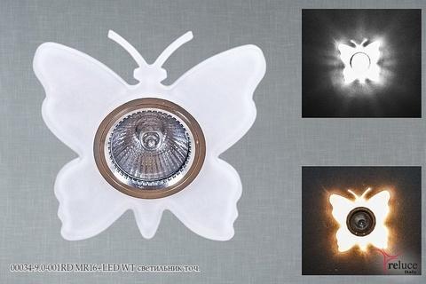 00034-9.0-001RD MR16+LED WT светильник точ.