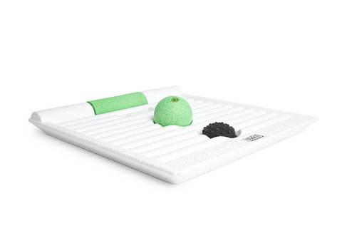 Платформа-тренажер BLACKROLL® SMOOVE BOARD (белый-зеленый)
