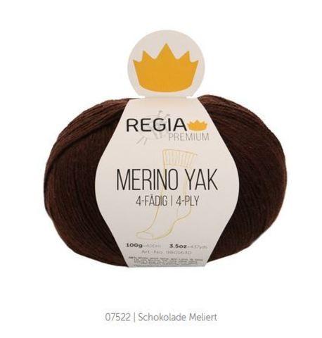 Пряжа Schachenmayr Regia Merino Yak 07522 шоколад