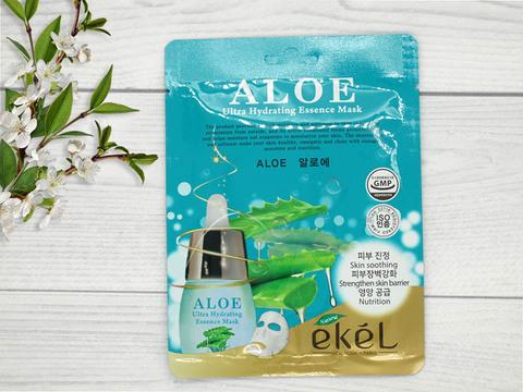 538785 EKEL Тканевая маска для лица с экстрактом алоэ Aloe
