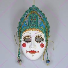 Интерьерная малая маска Праздничная