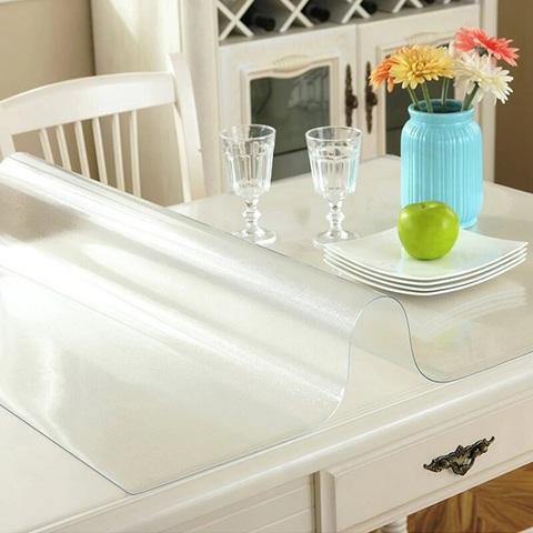Скатерть рифленая на стол  ширина 100 см. длина от 100см до 260см.