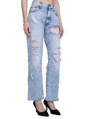GJN010134 джинсы женские, айс