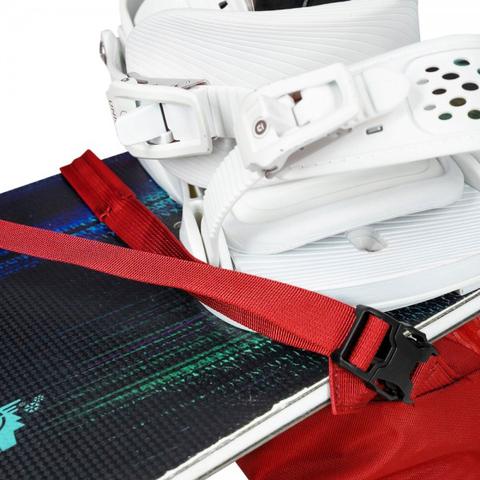 Картинка рюкзак горнолыжный Osprey Kamber 16 Ripcord Red - 12