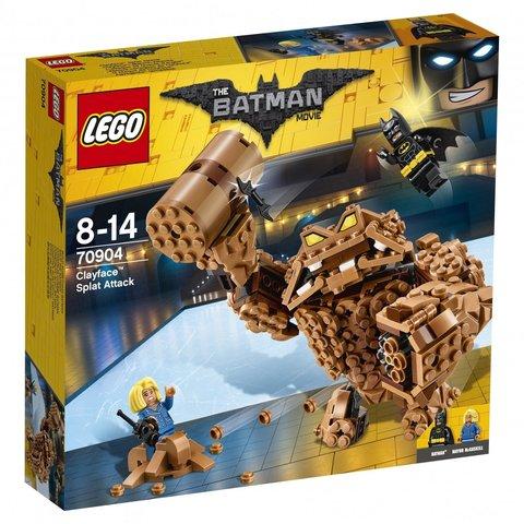 LEGO Batman Movie: Атака Глиноликого 70904 — Clayface Splat Attack — Лего Бэтмен Муви