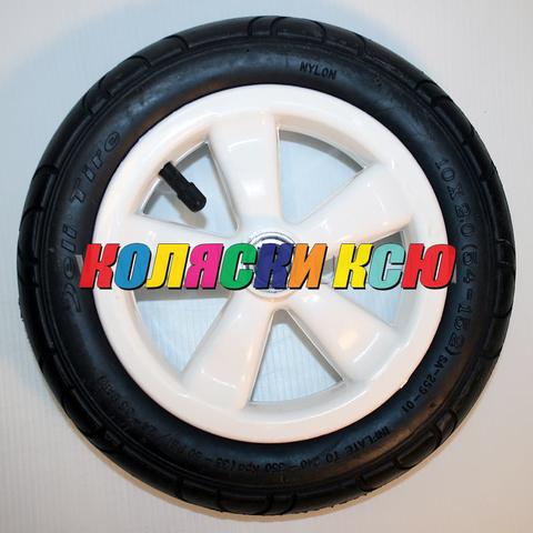 Колесо для детской коляски надув 10дюймов без вилки 54-152 10х2,0 (втулка на ось 10мм)