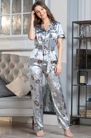 Комплект брючный 3 предмета Mia-Amore PARIS PIONS ПАРИЖ ПИОН 8994 серый