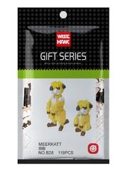 Конструктор Wisehawk Сурикаты 119 деталей NO. B28 Meerkatt Gift Series