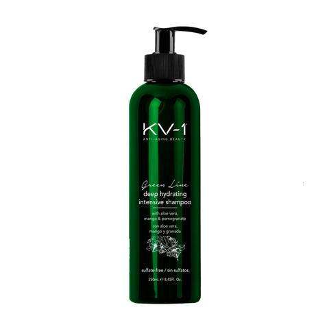 KV-1  Шампунь интенсивно увлажняющий без сульфатов Green Line Deep Hydrating Intensive Shampoo