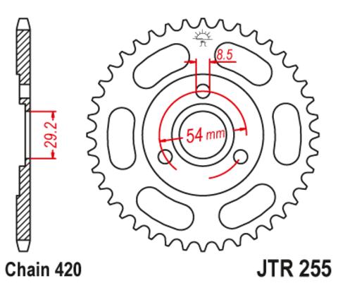 JTR255