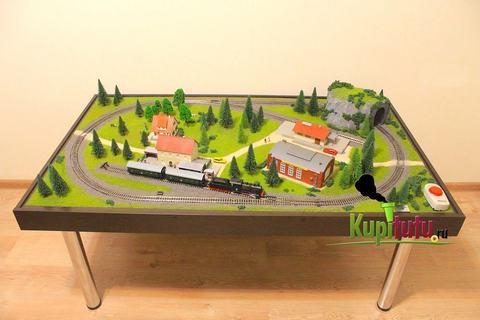 Железнодорожный макет в масштабе 1:87