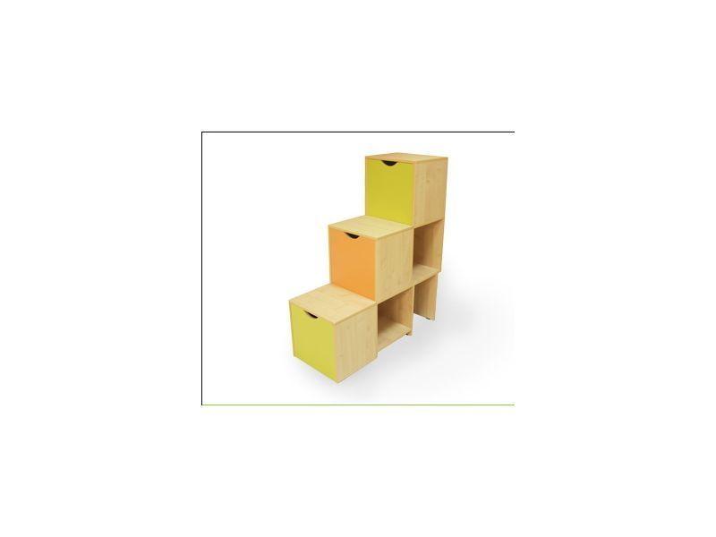 Лестница с ящиками Выше радуги