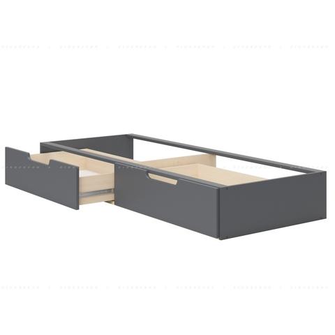 Встроенные ящики на направляющих для кровати Diamond
